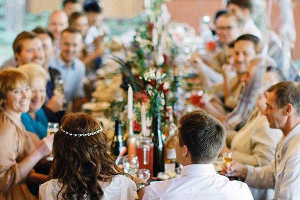 Свадьба в кругу близких