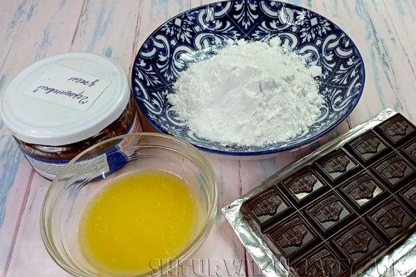 Ингредиента для наполнения и декора булочек