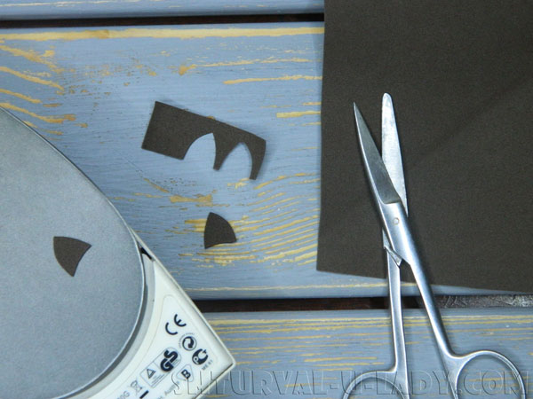 Вырезание мелких деталей из фоамирана