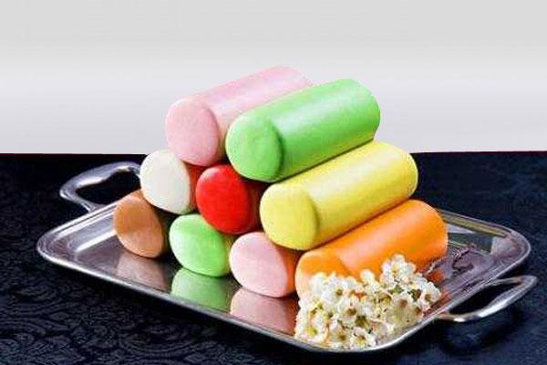 Набор цветных марципанов