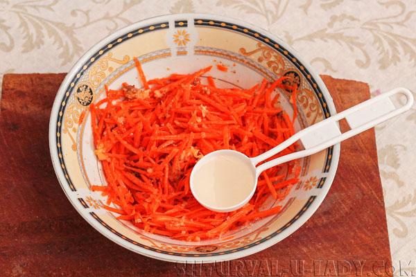 Приготовление корейской моркови