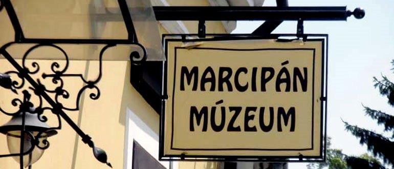 Музей марципанов вывеска