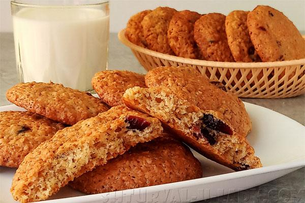 В разрезе печенье с начинкой