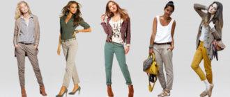 Разные образы с брюками чиносы