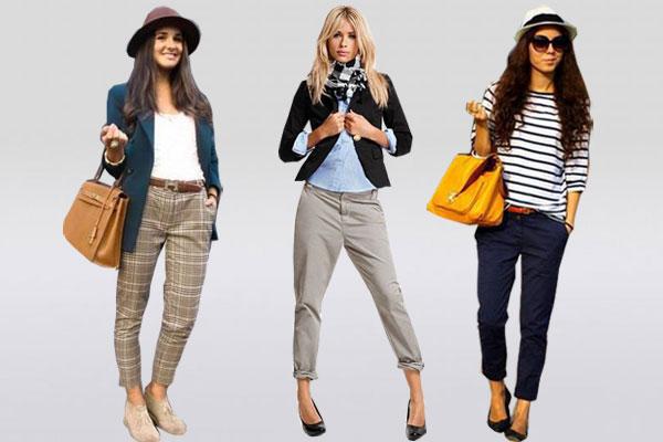 Модные сочетания чинос с предметами гардероба