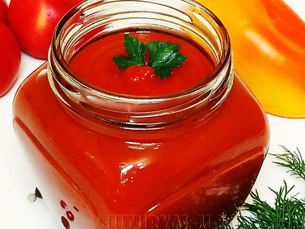 Вкусный кетчуп в банке